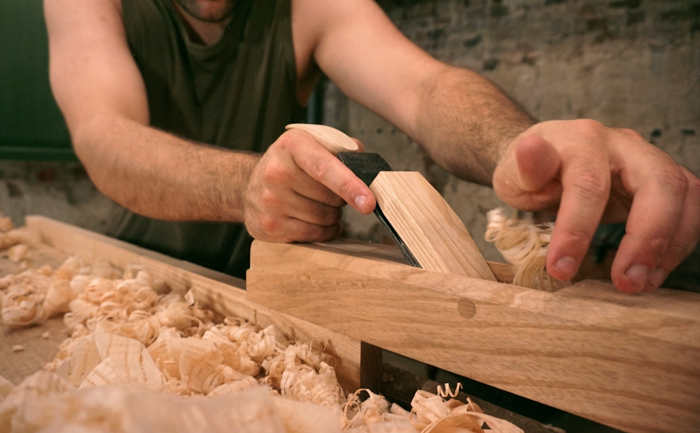Making a wooden Jack Plane