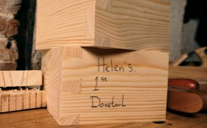 Hand Cut Dovetails – Beginner's Joints