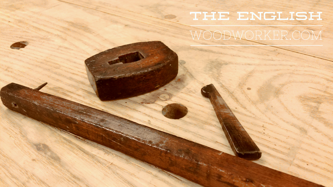 How to use an English marking gauge
