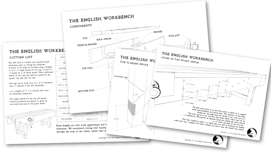 english workbench woodworking plans