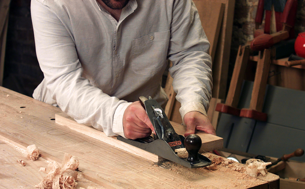 Woodworking by hand - the board flattening formula