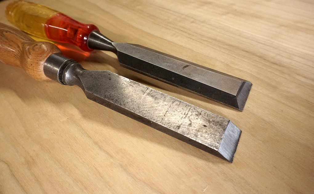 registered chisel, and bevel edge chisel