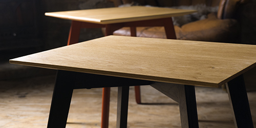 build a side table by hand