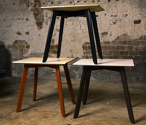 how to build a side table by hand