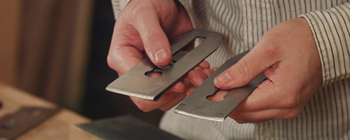 sharpening plane iron cambers