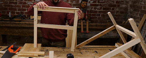 building a chair prototype